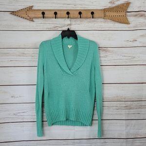 J. Crew | Wool Mohair Blend V-Neck Sweater